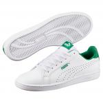 Obuv Puma Smash Perf White-Verdant Green