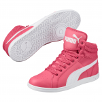 Obuv Puma Ikaz Mid v2 Jr Rapture Rose- Wh