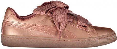 Incaltaminte Puma basket heart copper