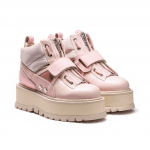Sneaker Boot Strap Wns Silver Pink-Brida
