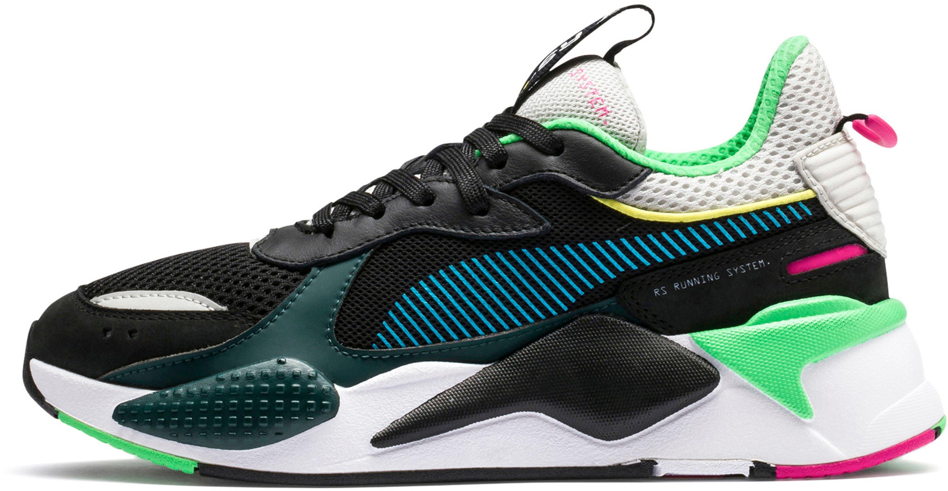 Shoes Puma RS-X TOYS Black-Blue Atoll