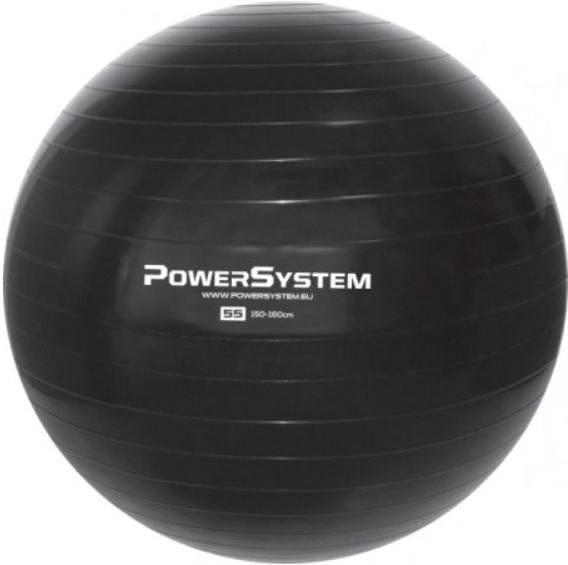 Lopta Power System PRO GYMBALL 65CM BLACK