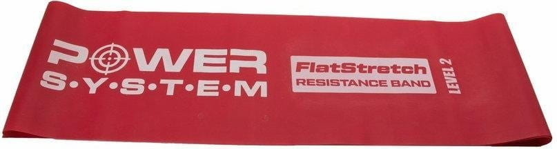 Posilovací guma Power System FLAT STRETCH BAND Level 2