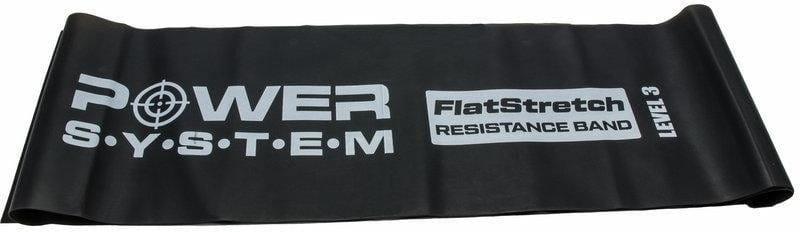 Posilovací guma Power System FLAT STRETCH BAND Level 3