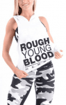 Nebbia Hooded Tank Top Hard