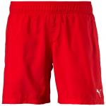 Šortky Puma ACTIVE Cat Logo Beach Shorts M red