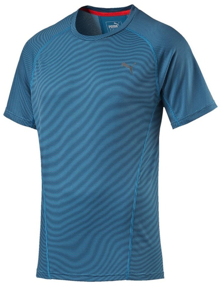 Triko Puma Faster than you S S Tee atomic blue