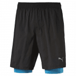 Faster than you 2in1 Short black