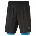 Šortky se slipy Puma Faster than you 2in1 Short black