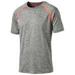 BONDED TECH SS TEE medium gray heather