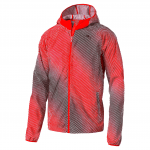 Packable Woven Jacket Red Blast-AOP