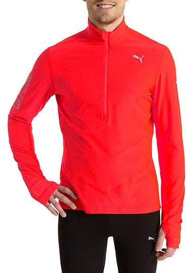 Běžecká tričko s dlouhým rukávem Puma Warm 1/2 Zip