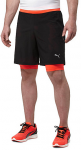 Šortky Puma Faster than you 2in1 Short Black-Re