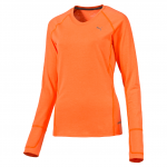 Triko s dlouhým rukávem Puma PWRWARM L S Tee W Shocking Orange