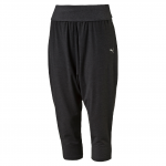 Kalhoty 3/4 Puma Dancer Drapey 3 4 pant Dark Gray Heather
