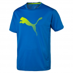 Triko Puma VENT CAT TEE Electric Blue Lemonade-Safe