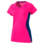 Core-Run S S Tee W KNOCKOUT PINK-TRUE BL