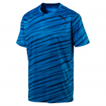 Triko Puma Essential Tech Graphic Tee french blue-P