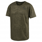 Triko Puma Dri-Release Novelty Tee Olive Night Heat