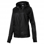 Bunda s kapucí Puma NightCat Jacket W Black