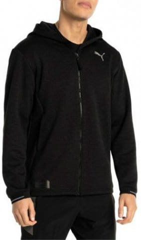 N.R.G. Fullzip Jacket Black Heather