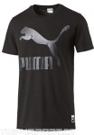 Triko Puma Archive Logo Tee black
