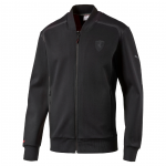 Mikina Puma Ferrari Sweat Jacket moonless night