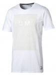 Triko Puma Evo Long Tee White