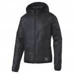 Bunda s kapucí Puma Evo Embossed Jacket Black