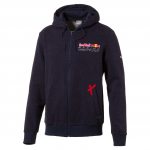 Mikina s kapucí Puma RBR Hooded Sweat Jacket Total Eclipse
