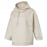 Mikina s kapucí Puma Tape Funnel Neck Crew Birch