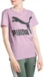 Triko Puma Classics Logo Tee Winsome Orchid