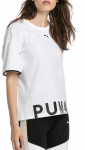 Triko Puma Chase Cotton Tee White