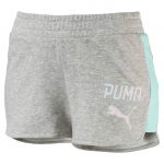 Šortky Puma ATHLETIC Shorts W Light Gray Heather