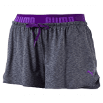 TRANSITION Drapey Shorts W ROYAL PURPLE