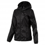 Bunda s kapucí Puma ESS Solid Windbreaker W Black