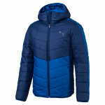 Bunda s kapucí Puma ESS warmCELL Padded JACKET Blue Depths