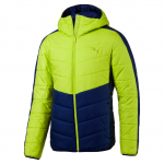 Bunda s kapucí Puma ESS warmCELL Padded JACKET Limepunch