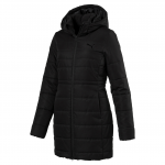Mikina s kapucí Puma ESS Hooded Padded Coat Black