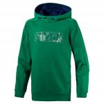 Mikina s kapucí Puma Hero Hoody FL Verdant Green