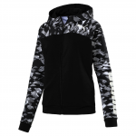Mikina s kapucí Puma URBAN SPORTS FZ Graphic Hoody W Cotton B
