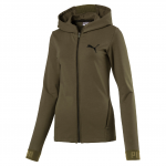 Mikina s kapucí Puma URBAN SPORTS FZ Hoody W Olive Night