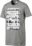 Photoprint Shoes Tee Medium Gray Heather