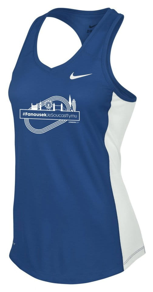 Maiou Nike WS MILER SINGLET II FANS