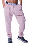 Drop crotch velvet pants
