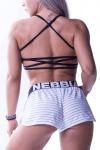 Dámské fitness šortky Nebbia