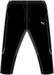 Kalhoty 3/4 Puma 3 4 Training Pant black-white