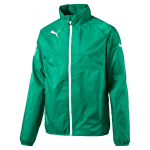 Rain Jacket power green-white