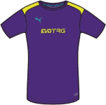 IT evoTRG Training Tee prism violet-flur