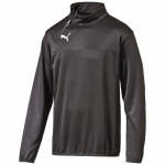 Triko s dlouhým rukávem Puma Esquadra 1 4 Zip Training Top black-blac